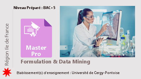 Master Formulation et Data Mining